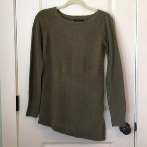 Olive green Banana Republic sweater